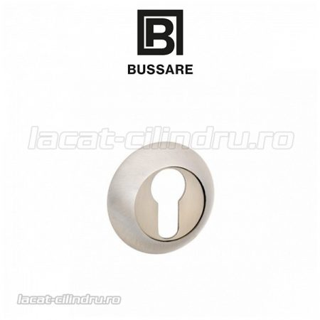 Bussare Classic rozeta rotunda Satin Chrome PZ