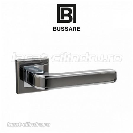 Bussare CAROLINE black nickel - chrome (Fara rozeta)