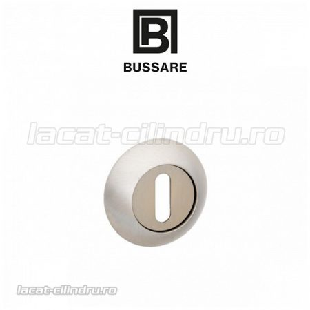 Bussare Classic rozeta rotunda Satin Chrome BB