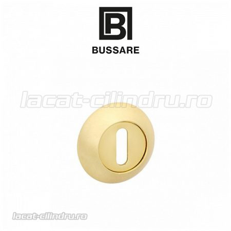 Bussare Classic rozeta rotunda Satin Gold BB